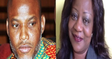 Lauretta backs Police, insists Nnamdi Kanu will be arrested if...