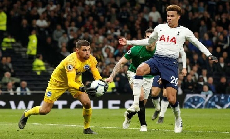 EPL: Watch Tottenham vs Brighton Live Streaming