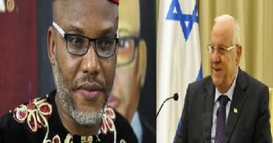 Israel warns Nigeria not to touch the oil in Biafraland