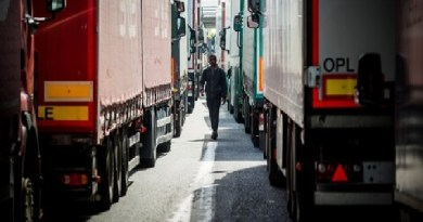 25 migrants found inside refrigerated container going to England, driver detained