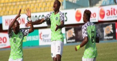 FIFA Ranking: Nigeria moves by 4 spots, scores 1493 points