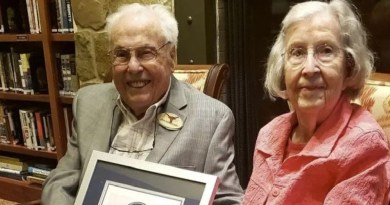 World oldest couple, Man 106, wife 105, married for over 79 years