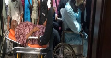 PHOTOS: List of Prominent Nigerians in wheelchair, crutches, stretcher during trial