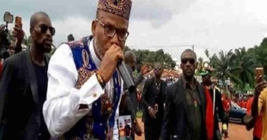 """I promise that these men will go to jail"" - Nnamdi Kanu vows"