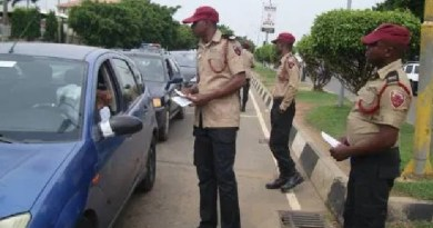 """operation number plates verification"" begins -FRSC"