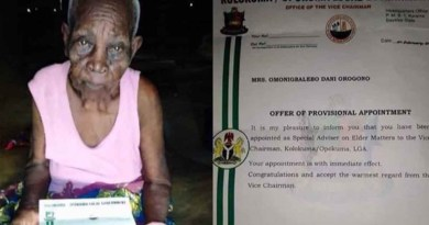 Nigerians react as 118 years old woman appointed as special adviser in Bayelsa state
