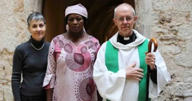 Emotions as Leah Sharibu's mother visits Archbishop of Canterbury in London