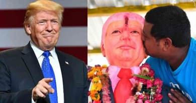 Indian man, Bussa makes Donald Trump status, prays to him daily (video)