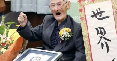 7 things to know about the World oldest living man that died in Japan