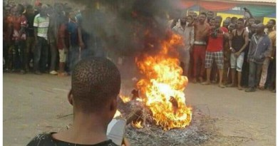 4 persons set ablaze in Edo