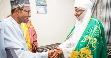 Buhari's fatherly role in the rift between Ganduje and Sanusi -Report