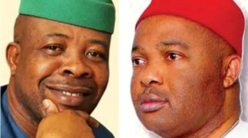 Lawyers of Uzodinma and Ihedioha in heated argument today in Court