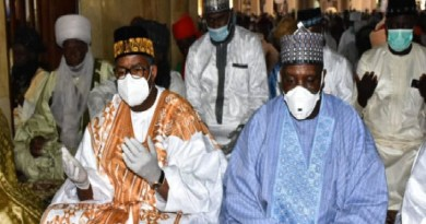COVID-19: Governor Bala Mohammed seen in crowded Juma'at service (Photos)