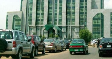 Jut In: Corporate Affairs Commission headquarters in Abuja, on fire
