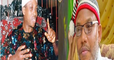 Nnamdi Kanu should be grateful to me, and stop talking about oil block - Uwazuruike