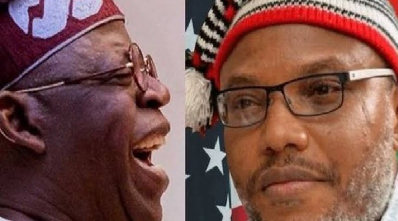 2023: Nnamdi Kanu reveals what will happen with Tinubu's presidency