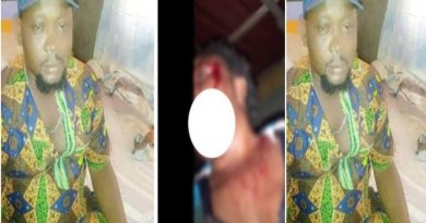 Nigerian man who beat up his wife and boasted about it on Facebook, has been arrested