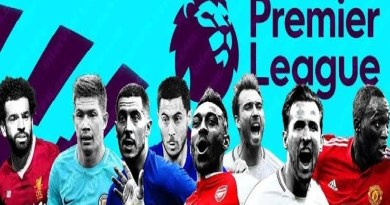 EPL: Six players from three clubs test positive to COVID-19