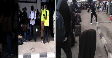 After stranded in UK, Nigerian returnees now stranded in Lagos airport