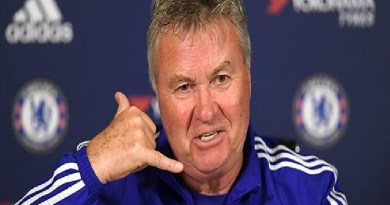Former Chelsea manager, Hiddink reveals how referee gave Champions League semi-final match to Barcelona
