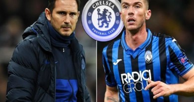 Chelsea to beat Leicester, others to sign a talented left-back from Atalanta