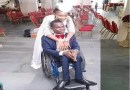 Lovely Nigerian lady marries a physically challenged man (Wedding photos)