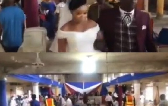 COVID-19 Task-force disrupt Church wedding in Calabar, couple, guests on the run