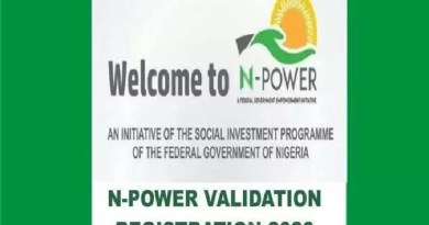 N-Power portal now functional without any challenge (Screenshot)