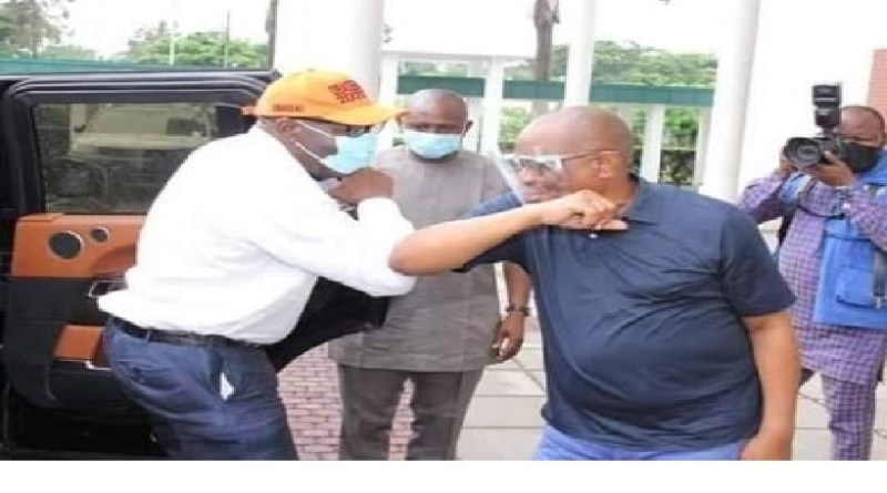 BREAKING: Obaseki and Wike meet in Rivers