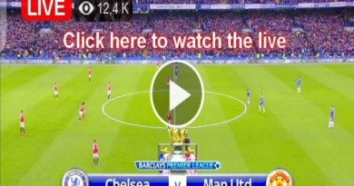 #CHEMUN: Watch Chelsea vs Manchester United Live Streaming