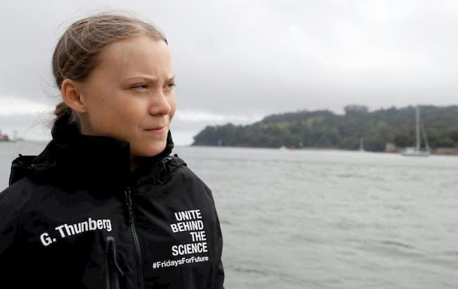 Greta Thunberg arrives in New York City for Climate Summit