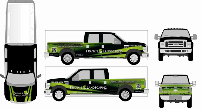 food truck template code4country org vehicle wrap templates – Smart Car Wrap Template