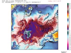 DMI4 0505 gfs_t2m_arctic_1