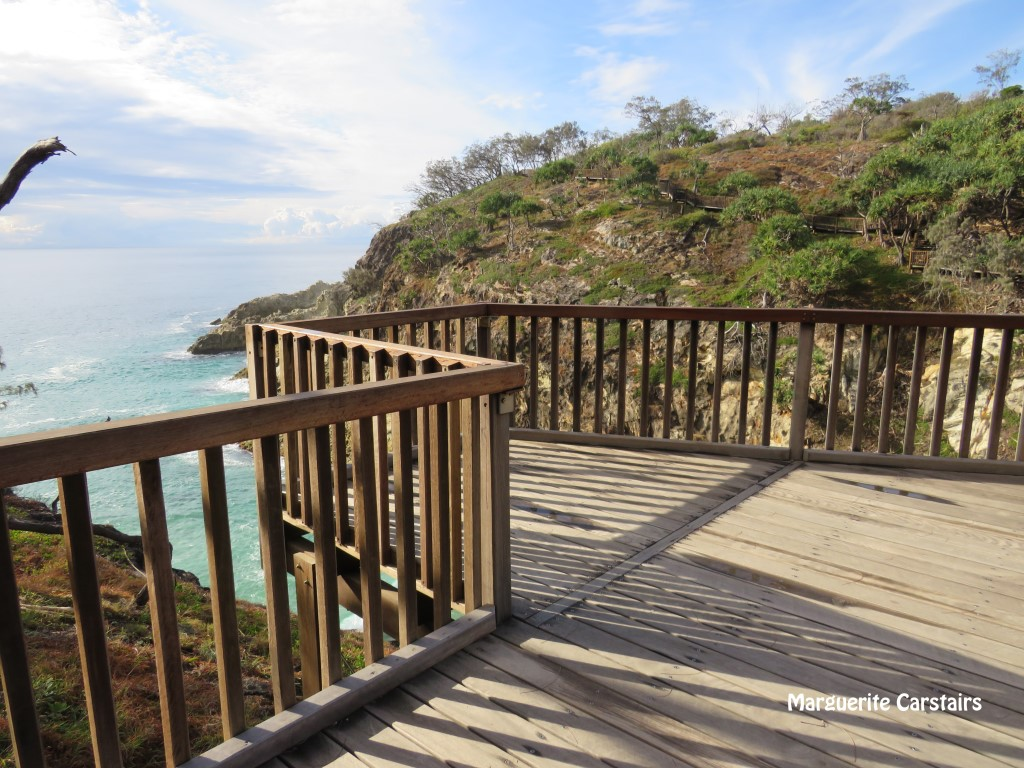 My Clifftop Walk Lookout Point Stradbroke