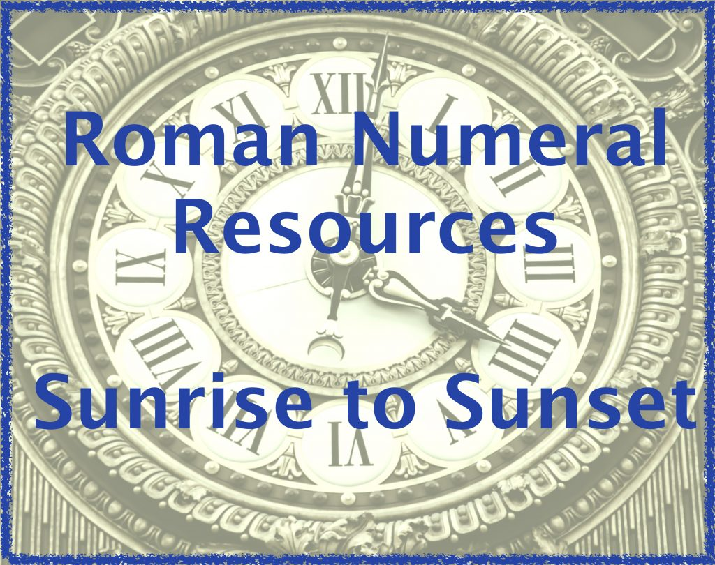 Best Sites For Free Roman Numeral Resources