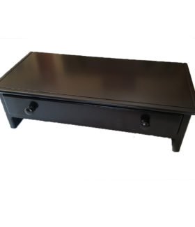 large Black Monitor Stand