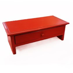 Red Computer Monitor Stand