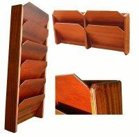 Hardwood File Racks