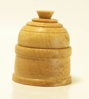 Lidded Box in Sugar Maple