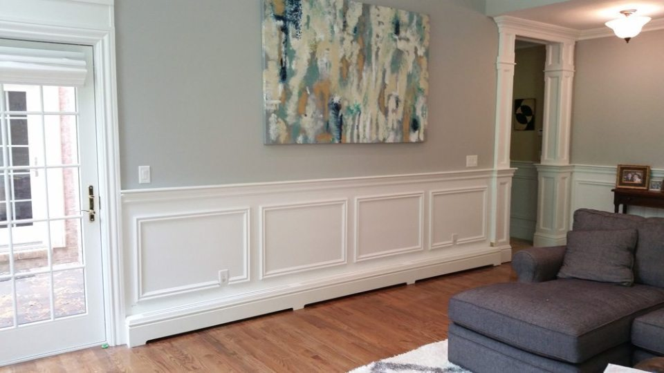 Custom baseboard heat covers