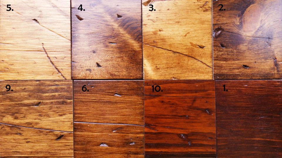 Creating a Rustic Pine Finish