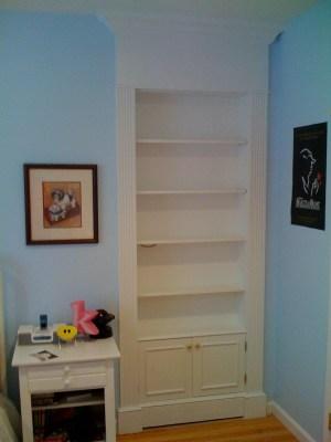 Secret Bookcase Door - Closed
