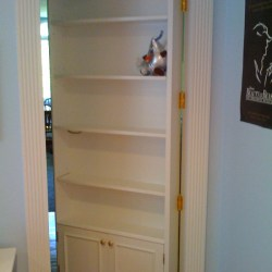 Secret Bookcase Door - Open