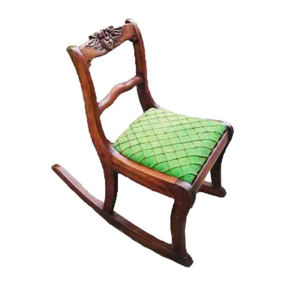 Antique Child's Rocking Chair - Restoring An Antique Childs Rocking Chair  Sunrise Woodwork - Antique Childs Chair Antique Furniture