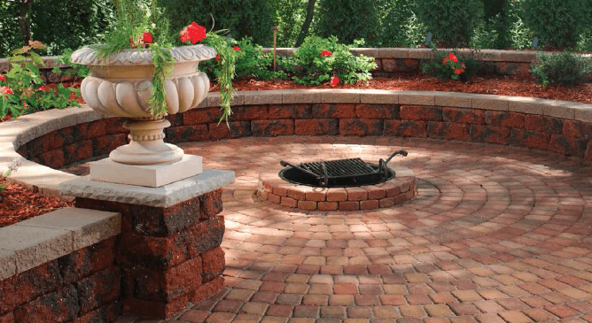 paver styles and paver colors for the