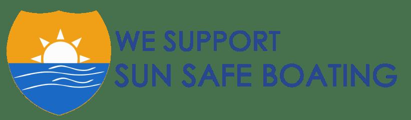 we support sun safe boating