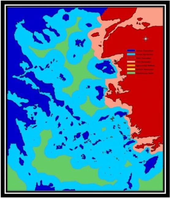 Ege Denizi – Yunan Gölüne dönüşecek mi?