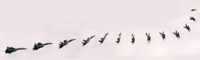 SU-35 Flanker-manevra-kabiliyeti