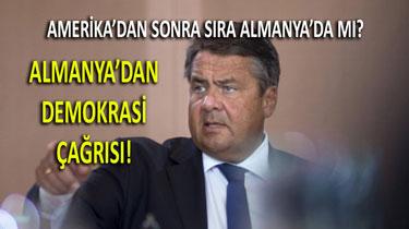 Gabriel'den Türk Demokrasisinin Desteklenmesi Çağrısı