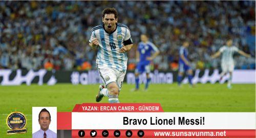 Bravo Lionel Messi!